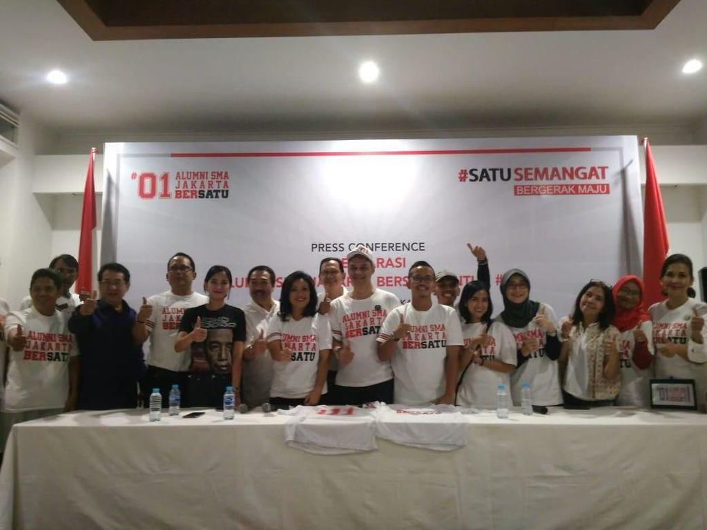 Alumni SMA Jakarta Bersatu Deklarasi Dukung Jokowi-Maruf