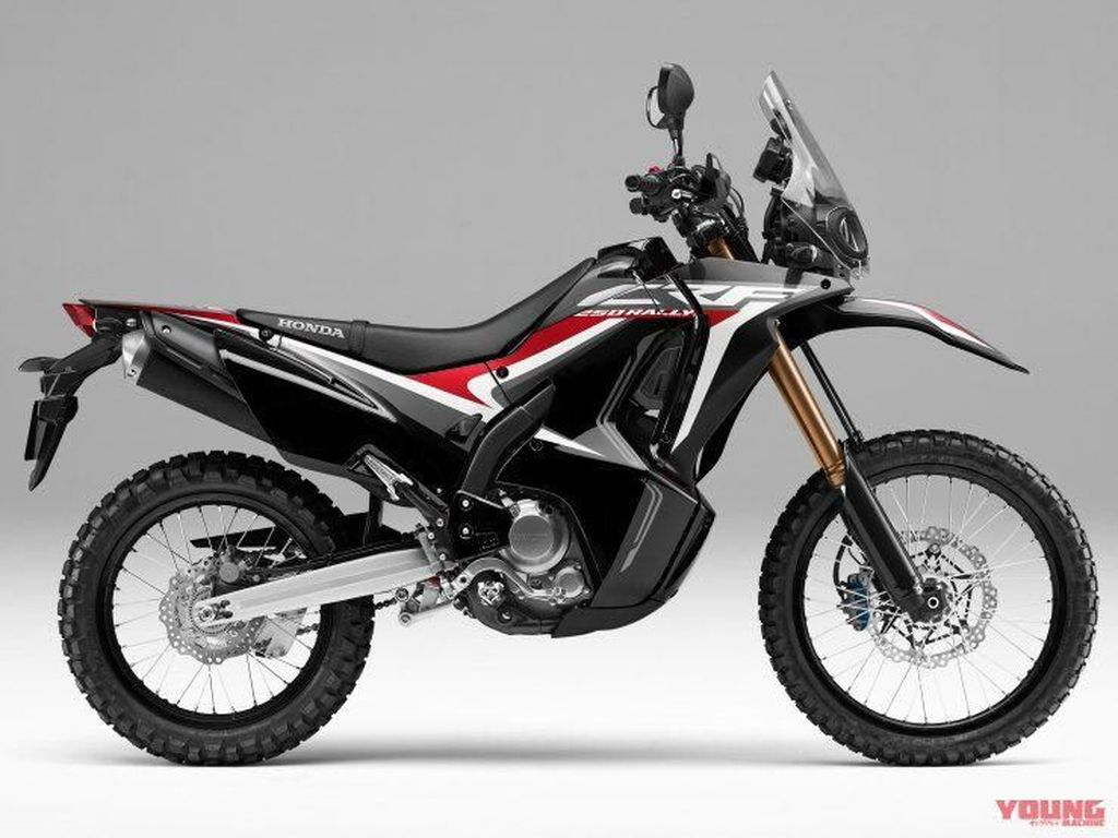 Wajah Baru Honda CRF250RALLY