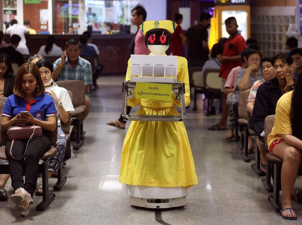 Siap-siap! 23 Juta Lapangan Kerja di RI Bakal Diganti Robot