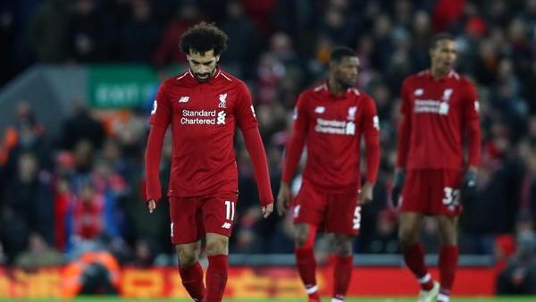 Liverpool dalam Sepekan: Gagal Unggul 7 Angka, Malah Turun ke Posisi 2