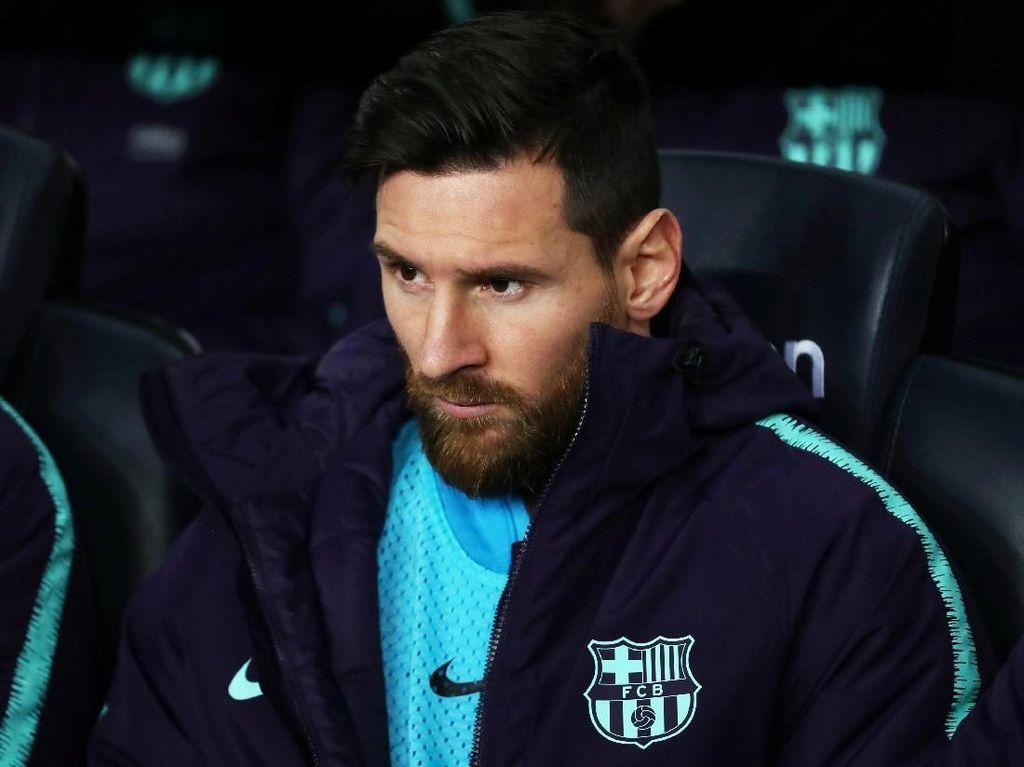 Kenapa Messi Tak Jadi Starter, Valverde?