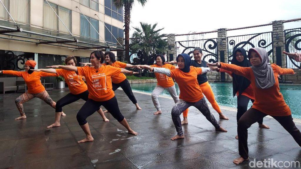 Meredam Bibit Kanker dengan Yoga