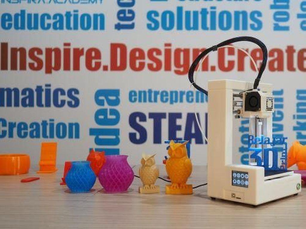 3D Printer Inspira Academy Bidik Segmen Pelajar