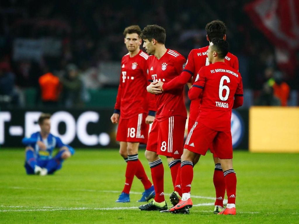 Bayern Munich Atasi Hertha Berlin untuk Maju ke Perempatfinal DFB-Pokal