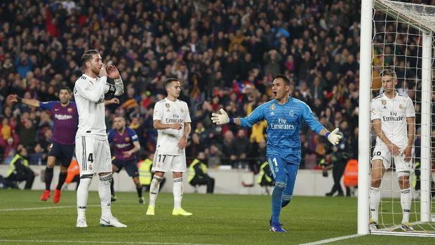 Di tangan Zinedine Zidane, Madrid hanya sekali kalah dari Barcelona di El Clasico.