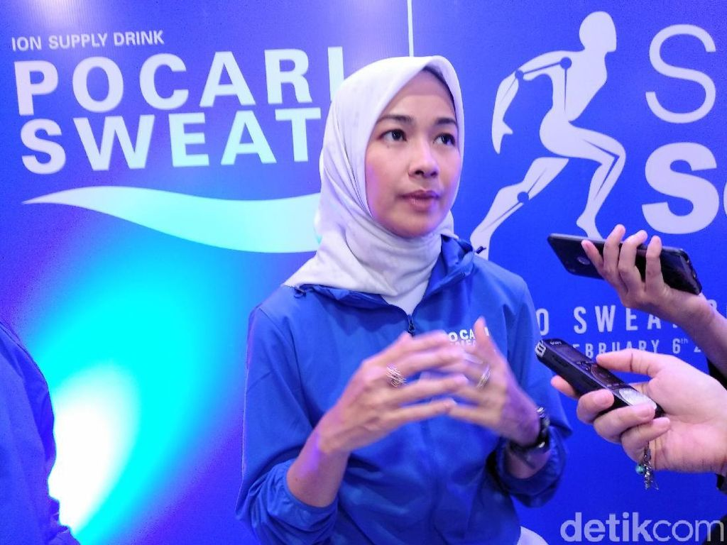 Rahasia Sarapan Alya Rohali Biar Kuat Lari Maraton di Usia 42 Tahun
