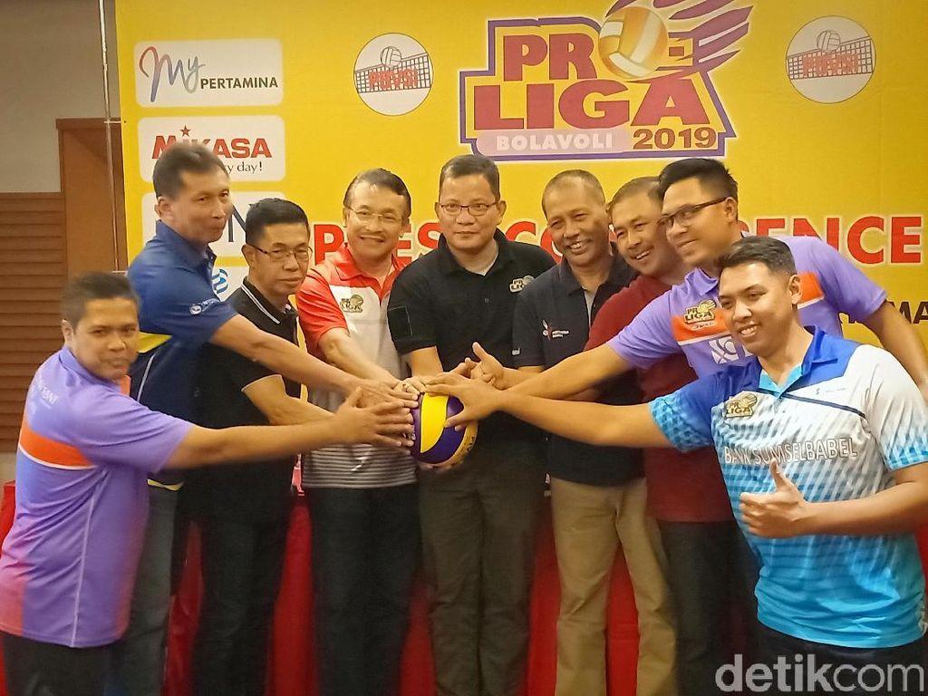 Proliga 2019 Masuki Final Four Putaran I di Kediri