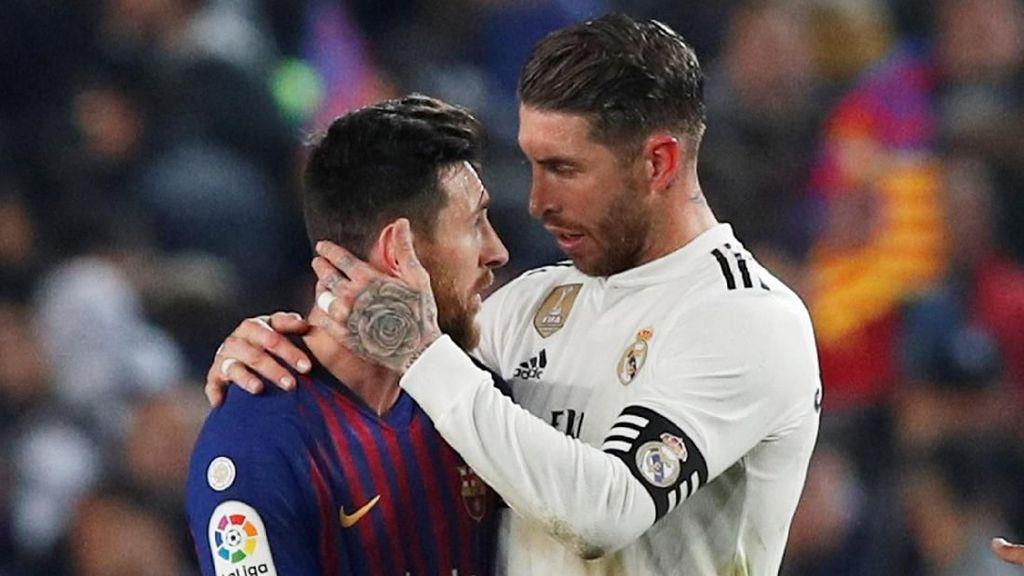 Barcelona Vs Real Madrid Sama Kuat di Camp Nou