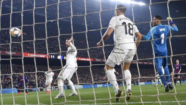 Hasil imbang lawan Barcelona bisa jadi modal kepercayaan diri Real Madrid menghadapi laga lawan Atletico.