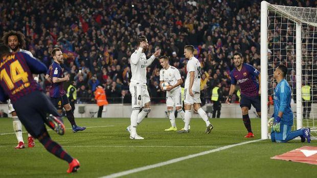 Laga El Clasico Barcelona vs Madrid Ditunda