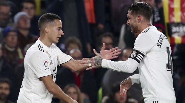 Real Madrid bisa naik ke posisi kedua klasemen bila menang lawan Atletico.