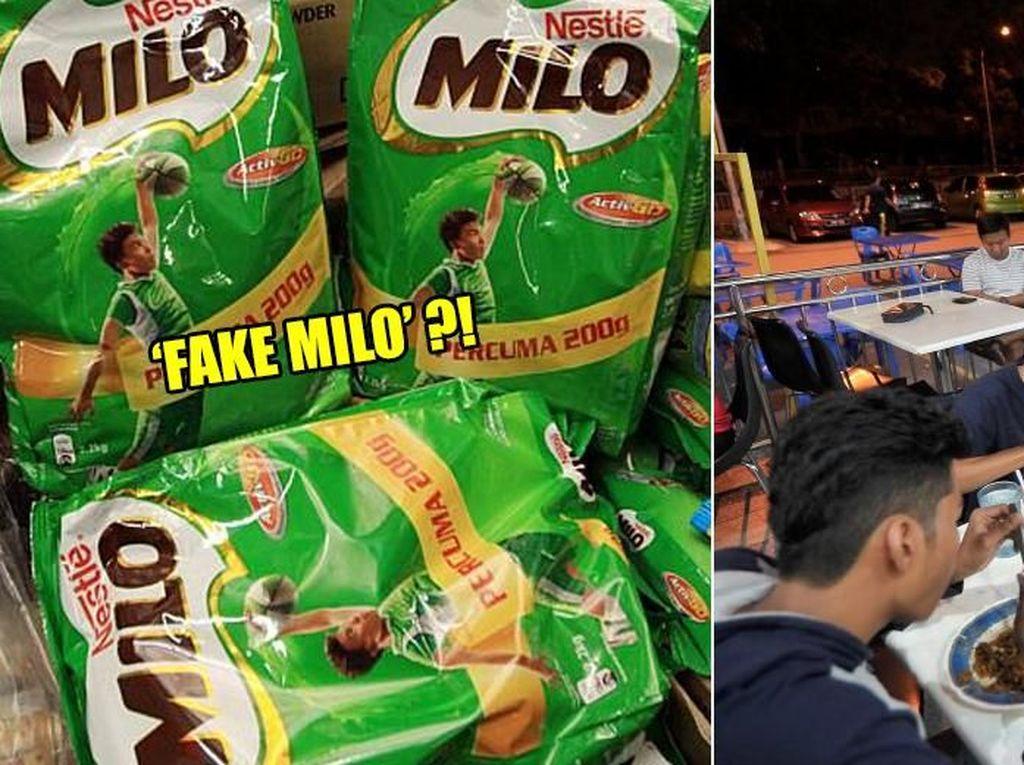 Lembaga Ulama Malaysia Sebut Milo Palsu Haram Dijual ke Pelanggan