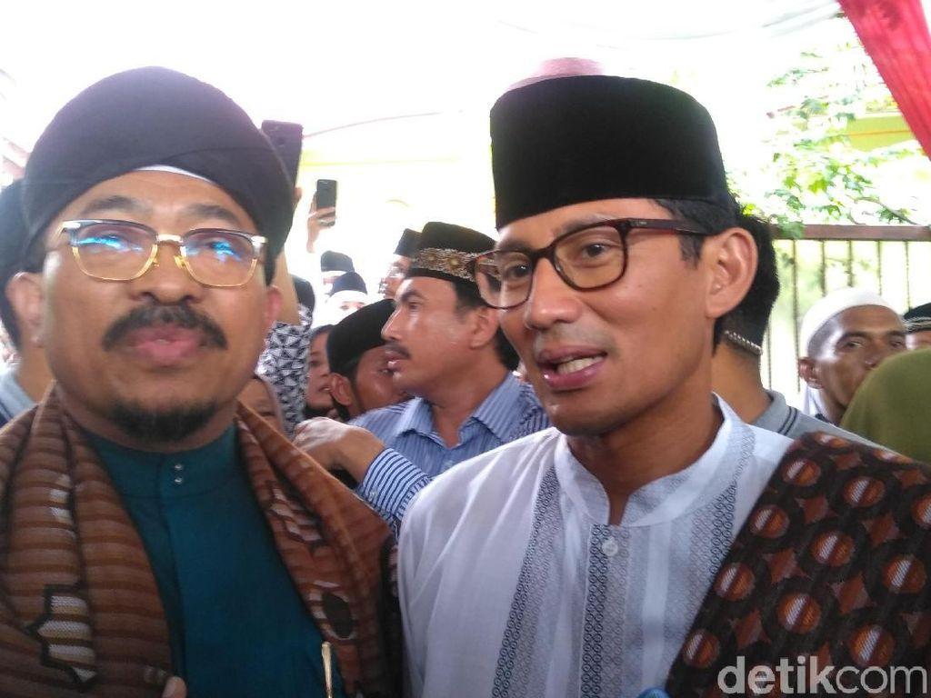 PDIP Sebut Jabar Wilayah Jokowi, Sandiaga Minta Tak Saling Klaim