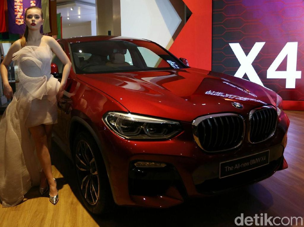 Mewah! All New BMW X4 Mengaspal di Jakarta