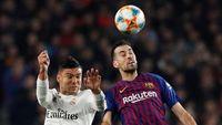 Barca Vs Madrid Seri, Busquets: Hasil yang Adil