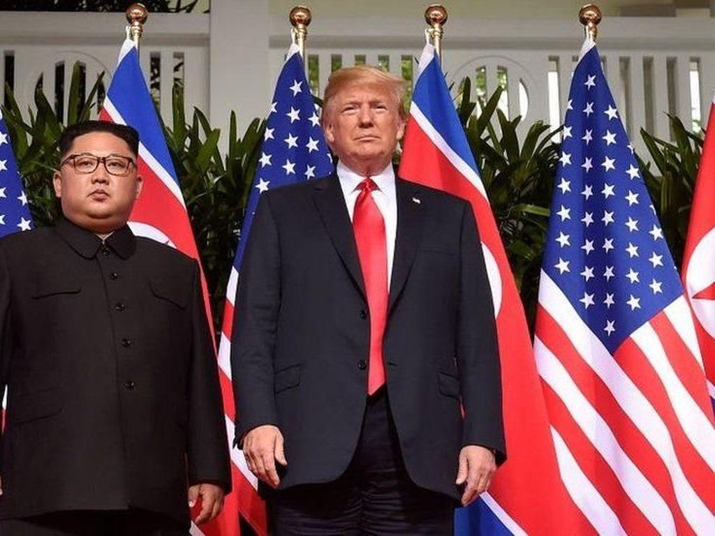Trump: Kim Ingin Semua Sanksi Dicabut, Kita Tak Bisa Melakukan Itu