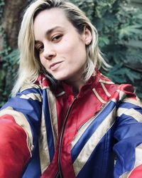 Brie Larson sebagai Captain Marvel
