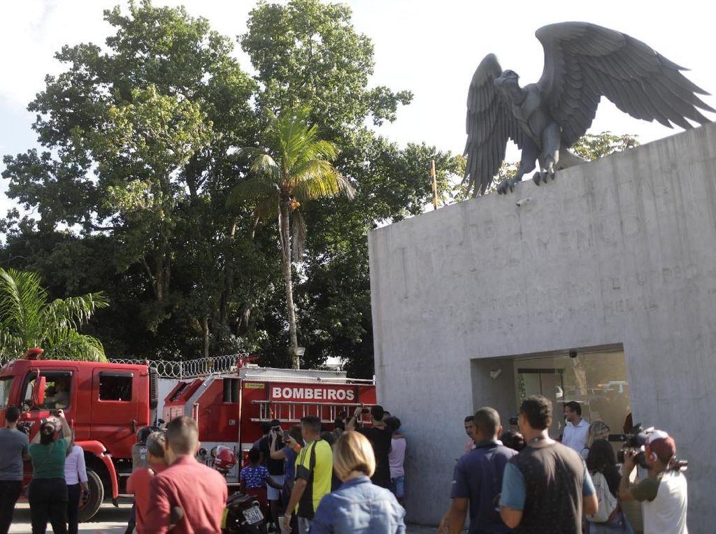 Tempat Latihan Klub Flamengo Terbakar, 10 Orang Meninggal
