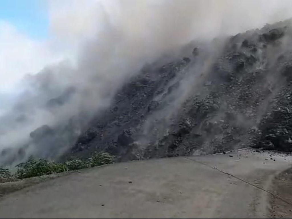 Pemkab Tetapkan Tanggap Darurat Bencana Erupsi Gunung Karangetang 7 Hari