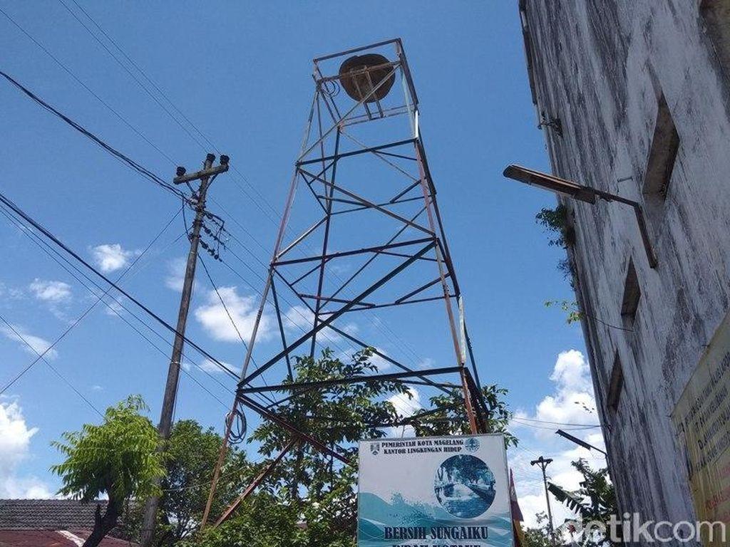 Menara Bengung, Sirine Peninggalan Belanda di Kota Magelang