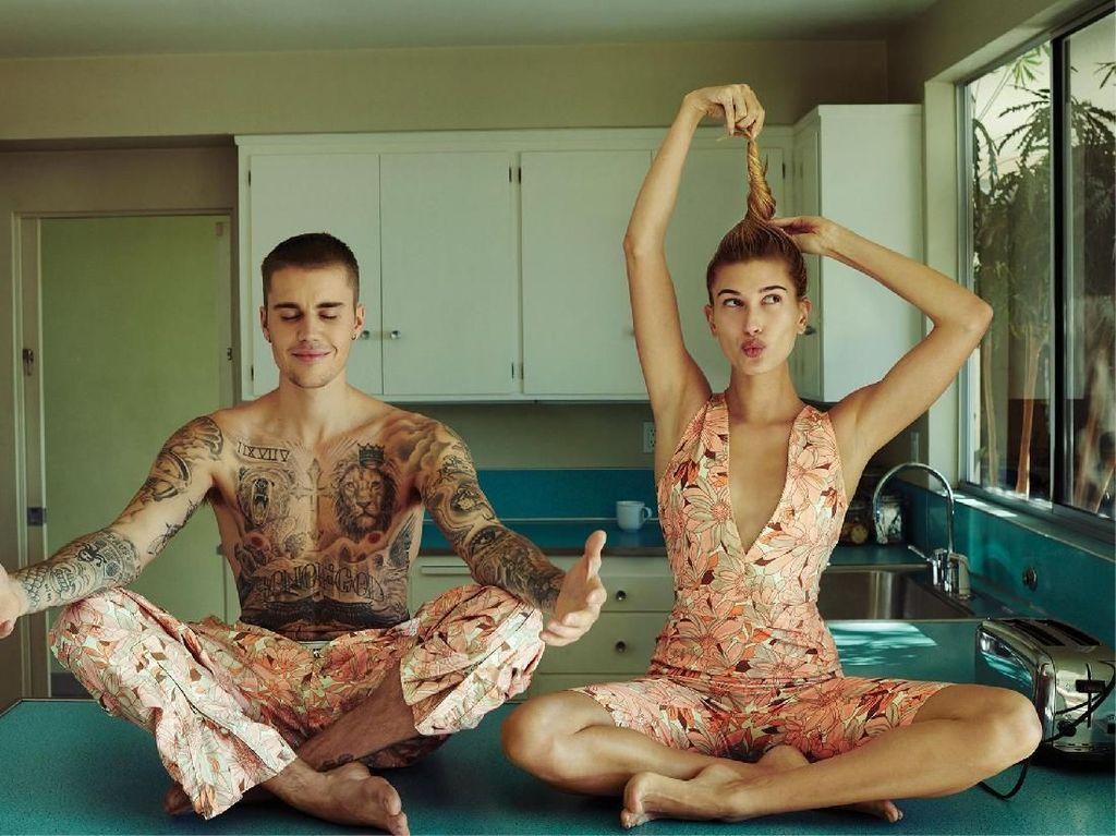 Romantis Banget! Justin Bieber Nyatakan Cinta ke Hailey Lewat Puisi