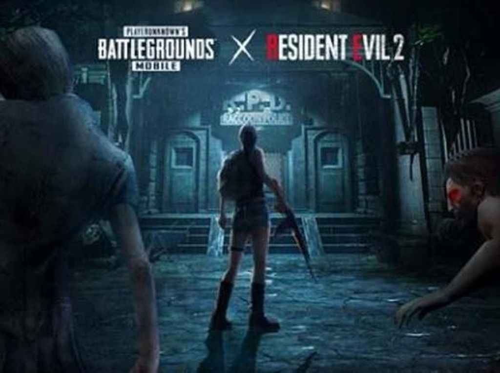 PUBG Mobile Segera Digerayangi Zombie Resident Evil 2