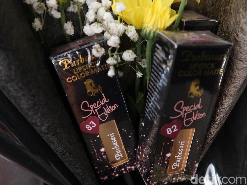 Jelang Valentine, Purbasari Rilis Lipstik Edisi Terbatas