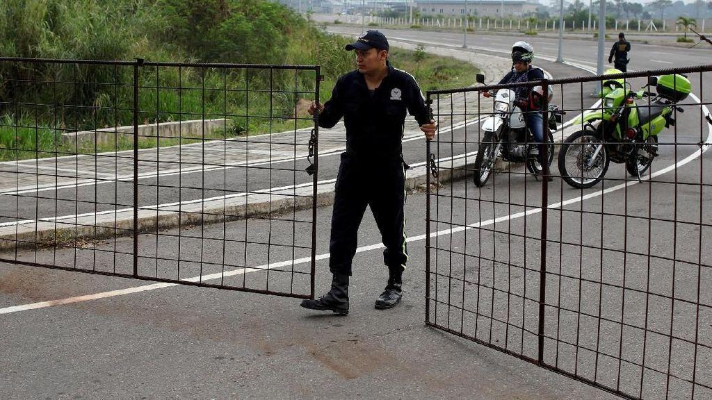 Perbatasan Ditutup, Warga Venezuela Gagal Dapat Bantuan