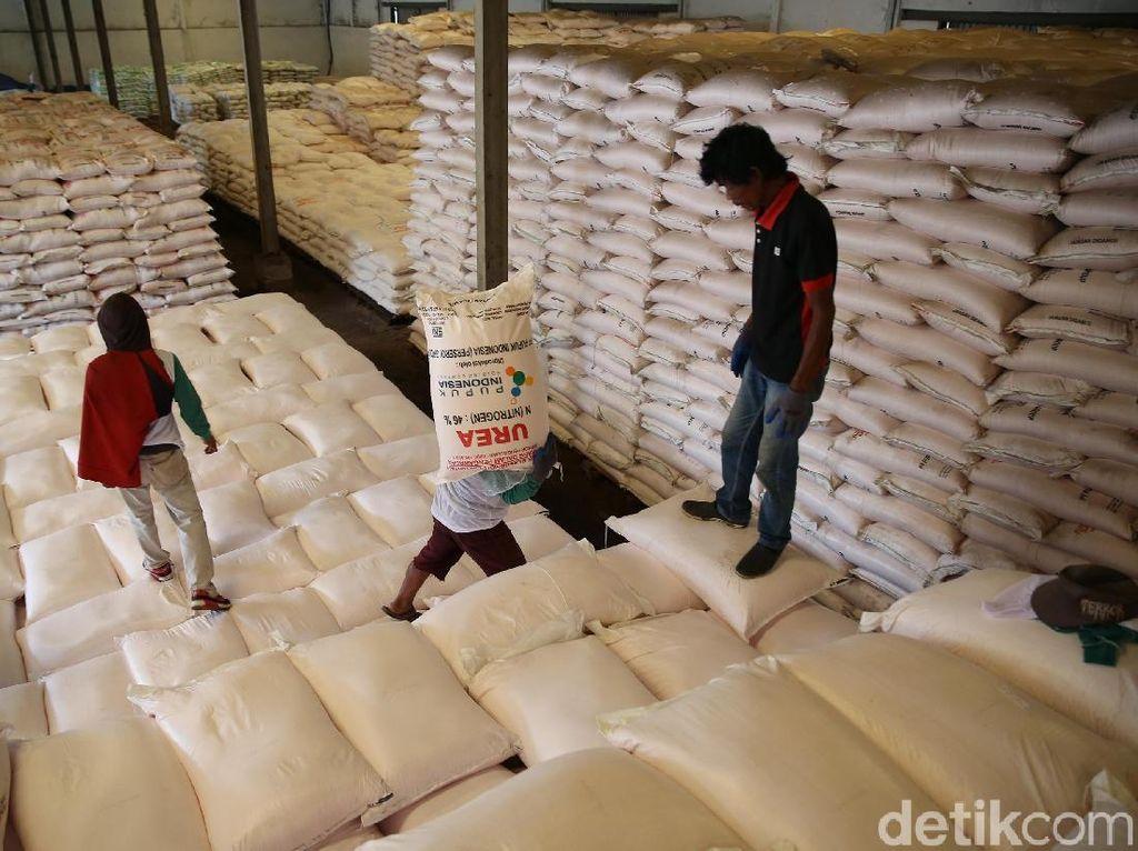 1,32 Juta Ton Stok Pupuk Subsidi Disiapkan Antisipasi Libur Lebaran