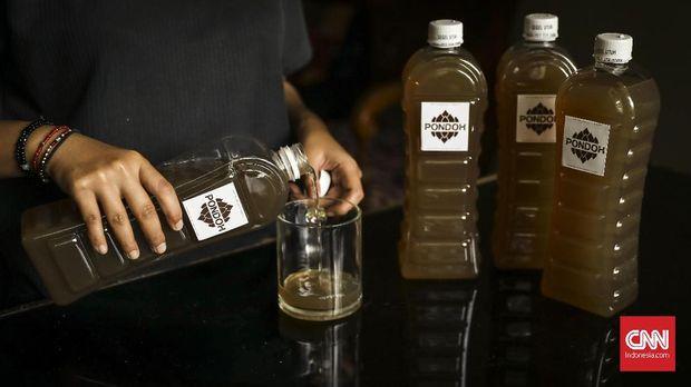 Kian 'Kaya Raya' dengan Minuman Fermentasi (EBG)