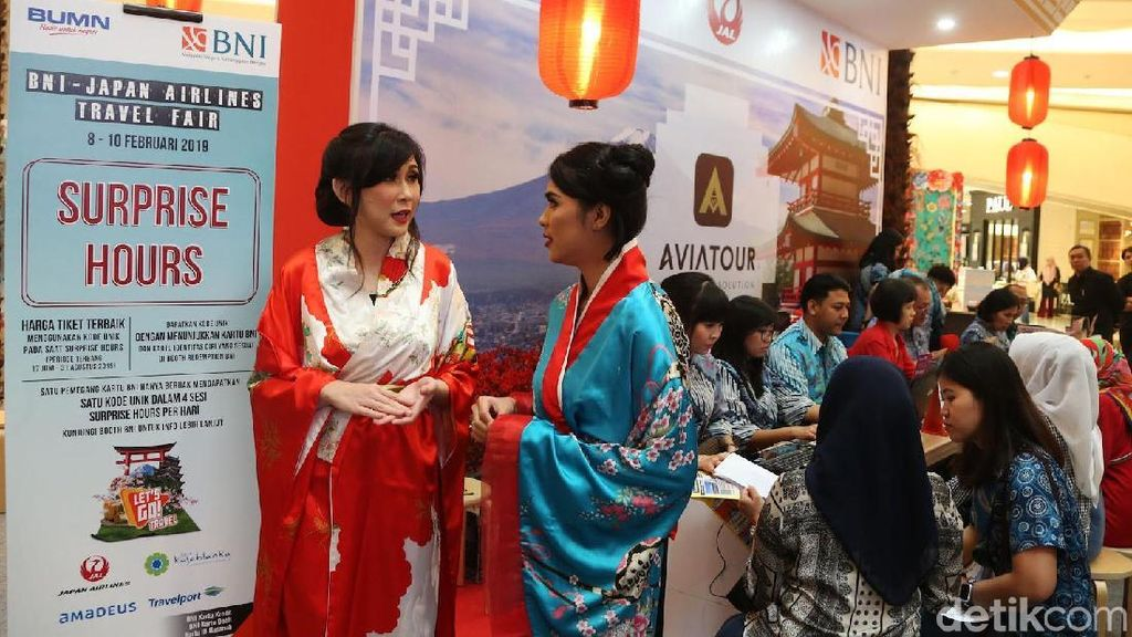 Japan Airlines Travel Fair 2019 Resmi Digelar