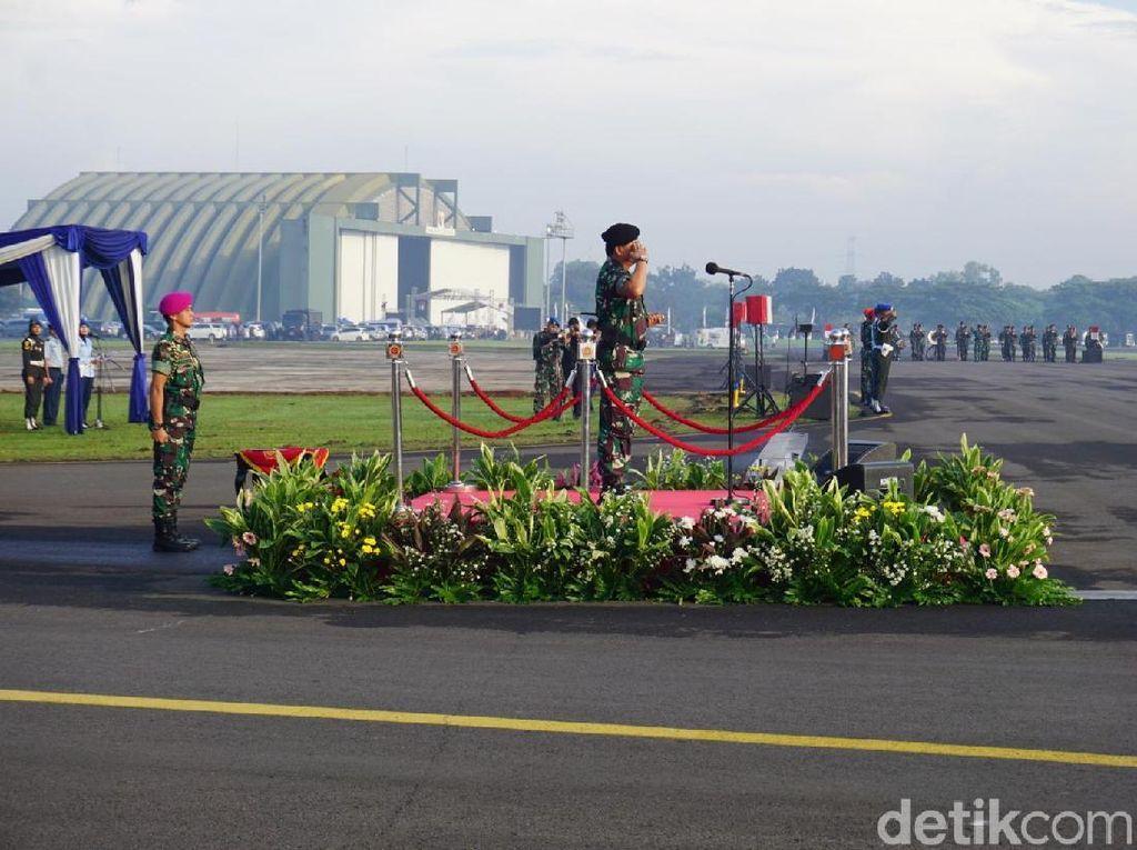 Pimpin Apel Gaktib POM TNI, Panglima Tekankan Profesionalitas Prajurit