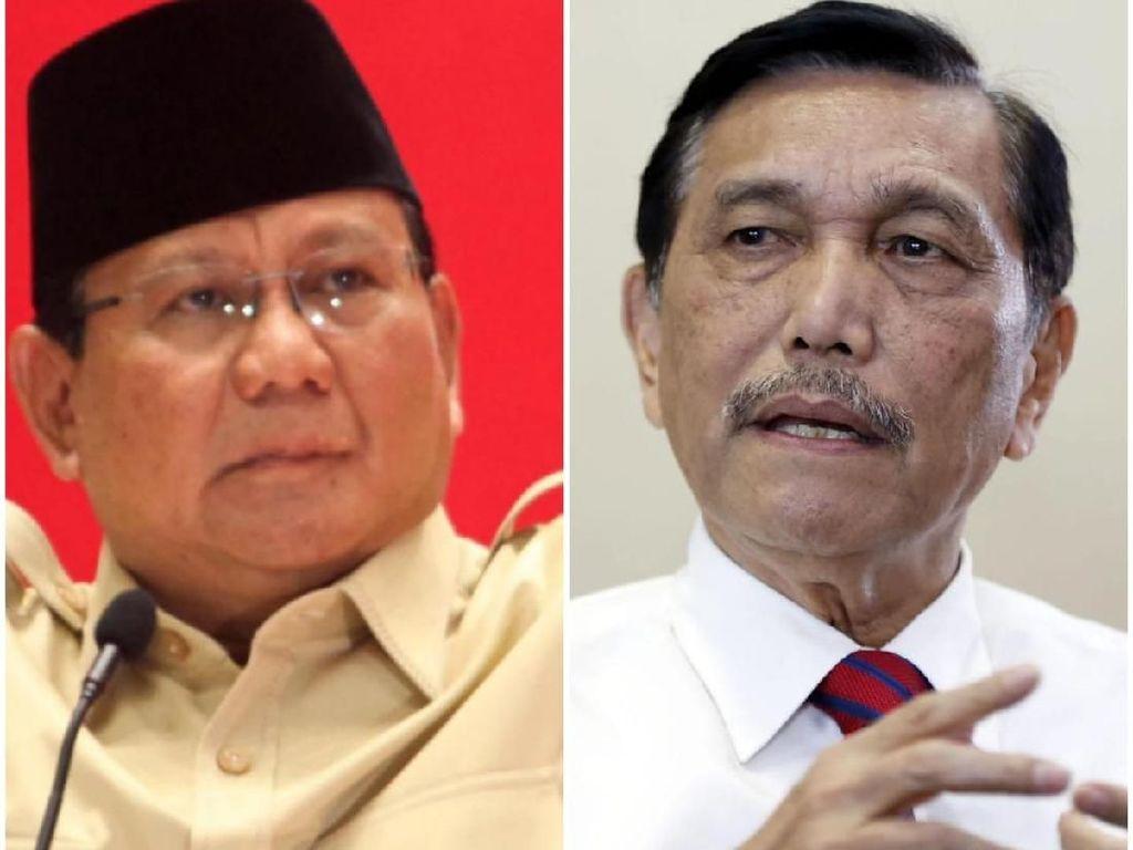 Rapat 2 Jam Bareng Prabowo Bahas Apa? Ini Jawaban Luhut