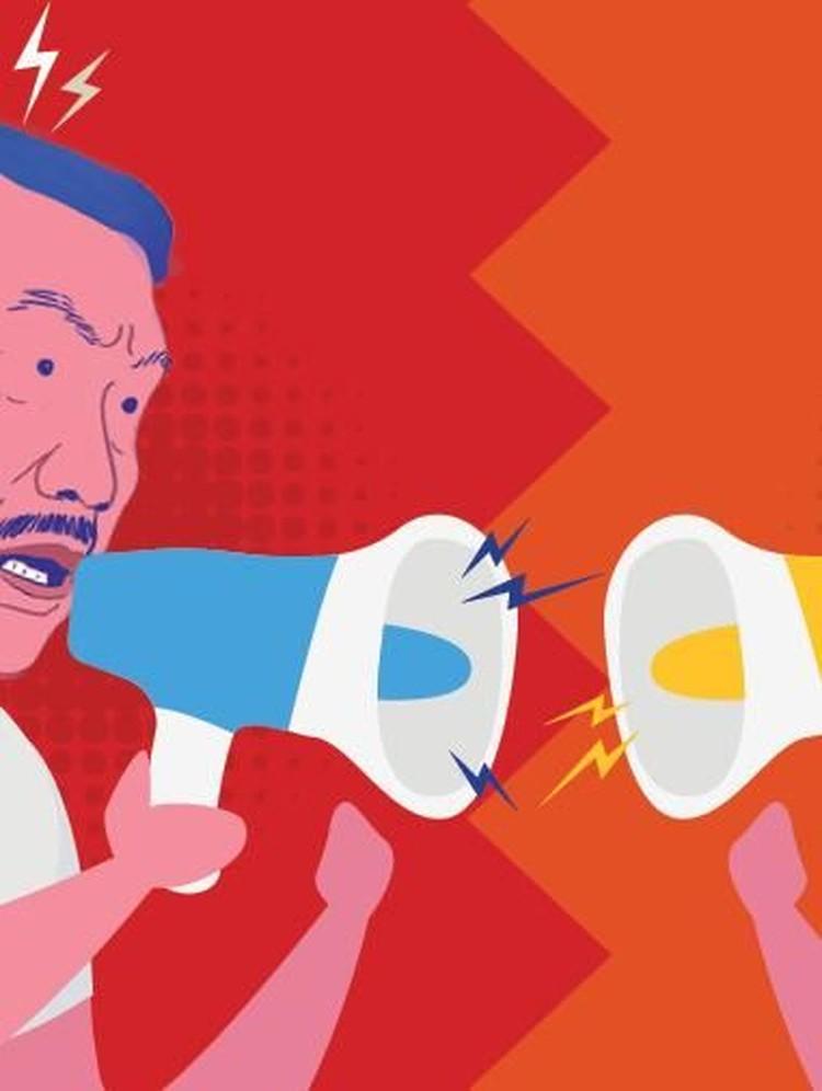 Prabowo Menyerang, Luhut Menghadang