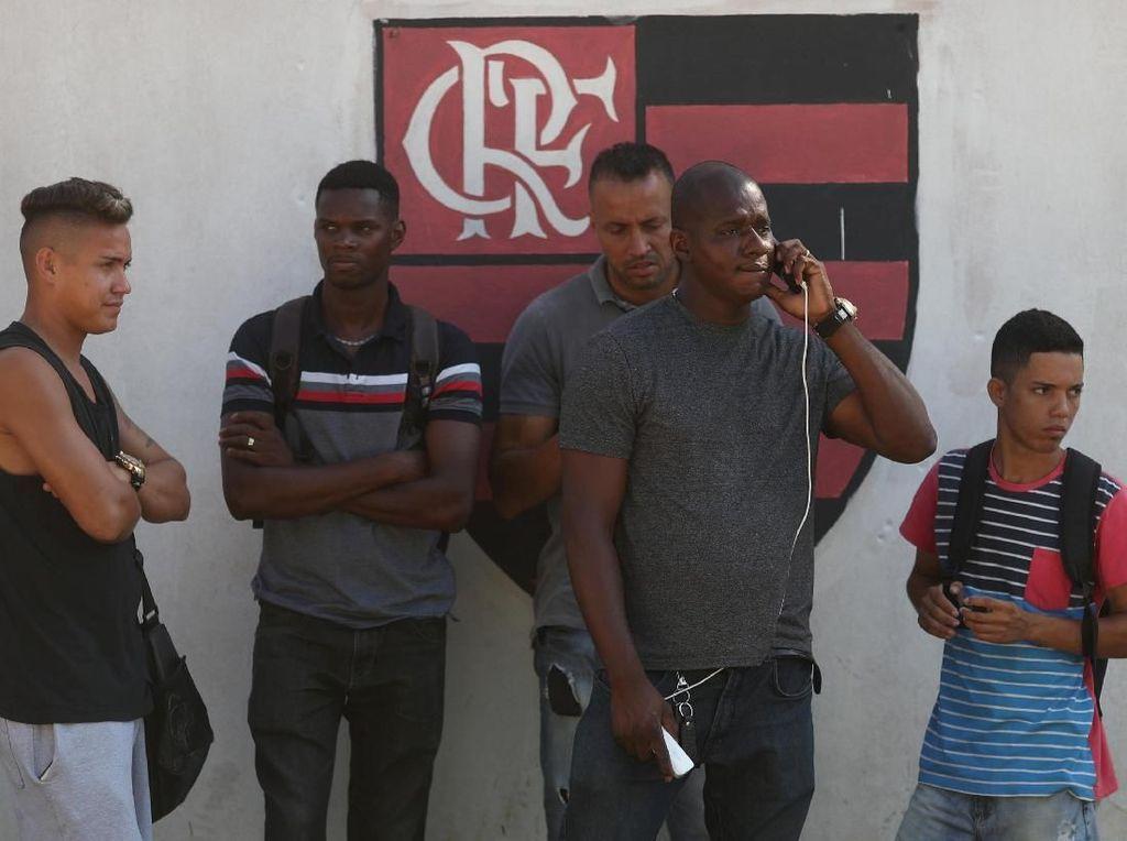 Nama 10 Pesepakbola Remaja Korban Tragedi Kebakaran Flamengo