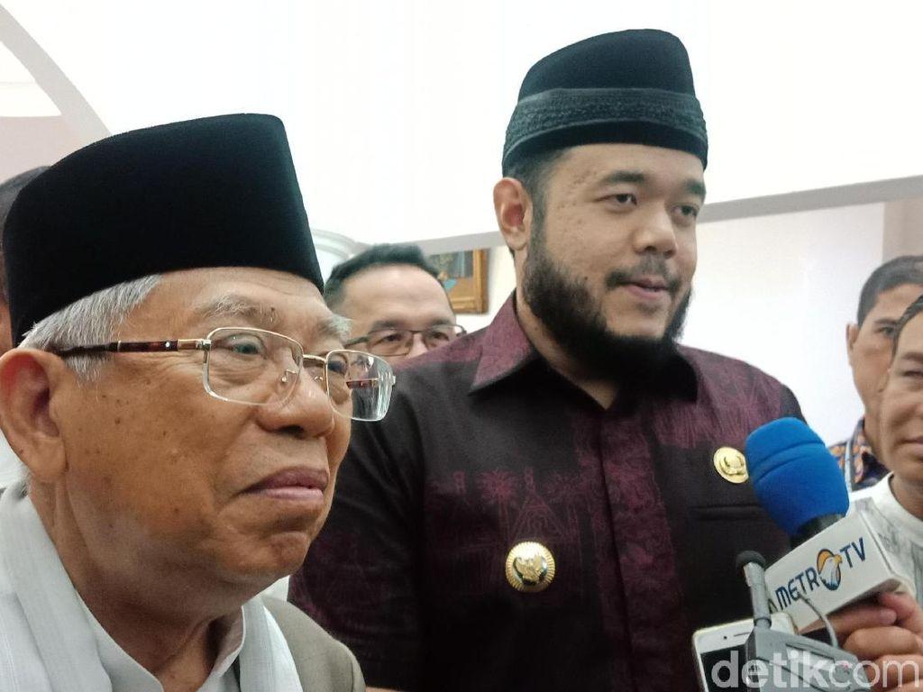 Wali Kota Padang Panjang Siap Menangkan Jokowi-Maruf