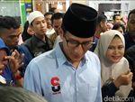 Basis Pendukung Diklaim Jokowi, Sandiaga: Jawa Barat Milik Allah