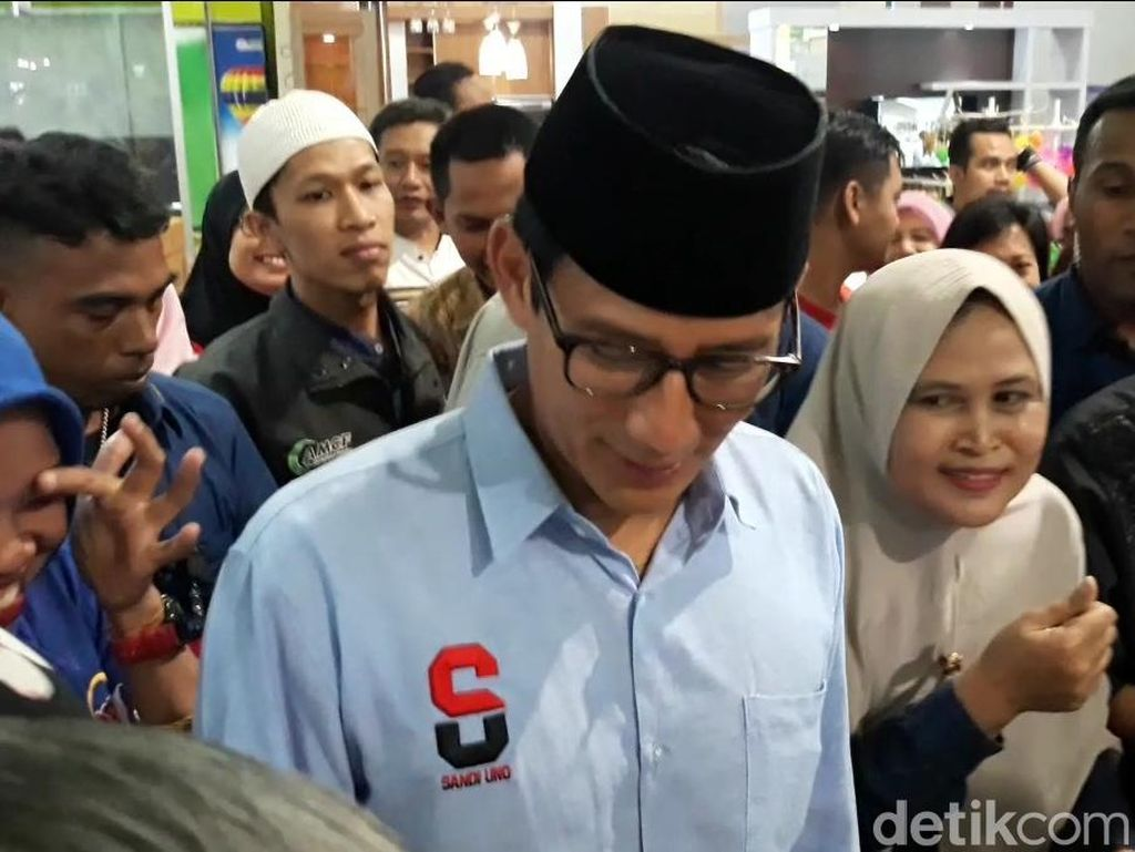 Luhut Sebut Prabowo Bohong, Sandi: Kata Bu Susi Bocor Luar Biasa