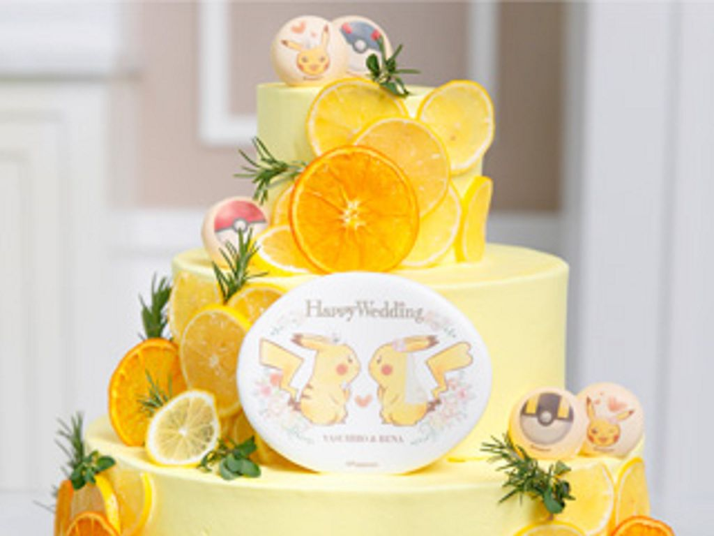 Buat Pernikahan Tema Pokémon, Wedding Planner Ini Sajikan Kue Pengantin Pikachu