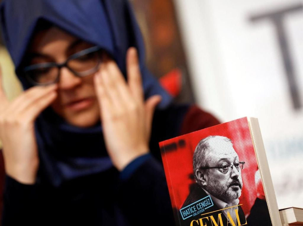 Tunangan Jamal Khashoggi Terbitkan Buku Memoar Sang Jurnalis