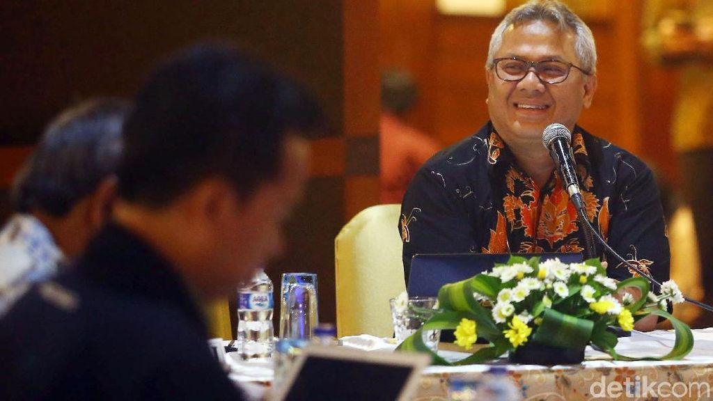 Ketua KPU Pimpin Rapat Bahas Debat Capres Putaran Kedua