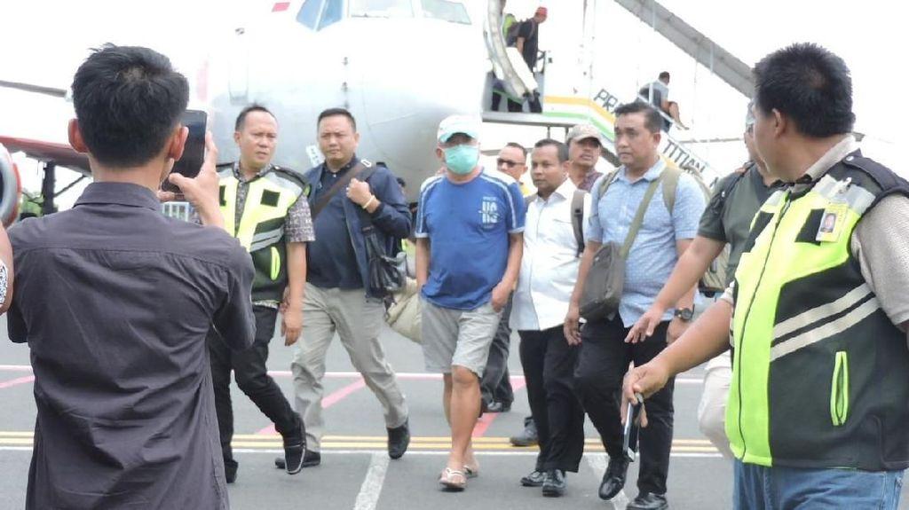 Detik-detik Koruptor Rp 119 Miliar Dijebloskan ke Lapas Lampung