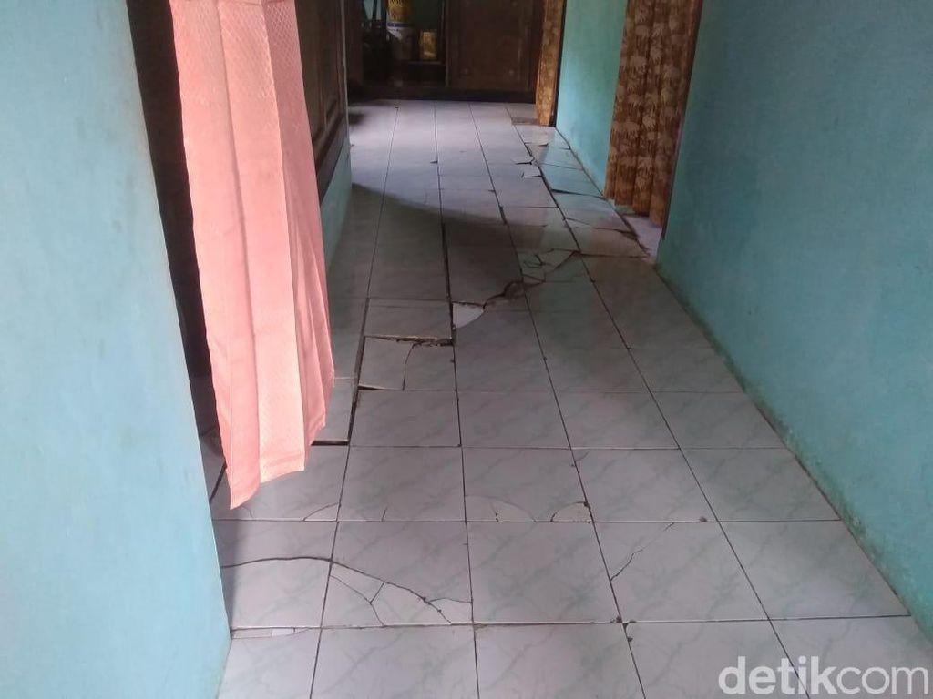 17 Rumah di Banjarnegara Rusak Akibat Tanah Gerak