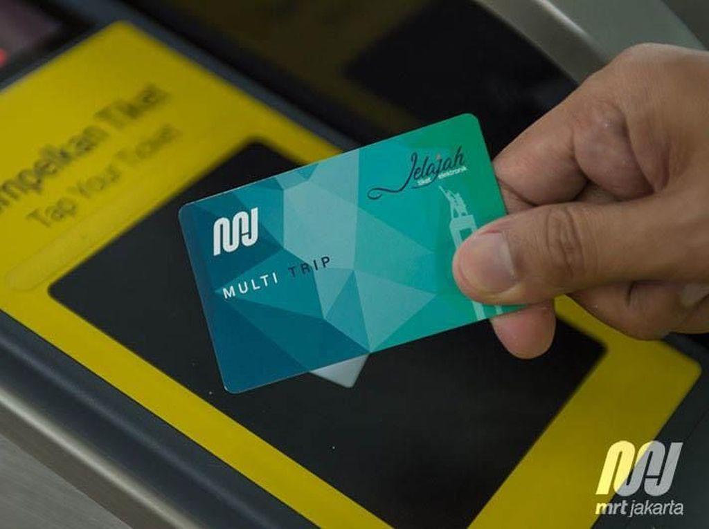 Penampakan Tiket MRT Jakarta yang Bisa Dipakai Maret 2019