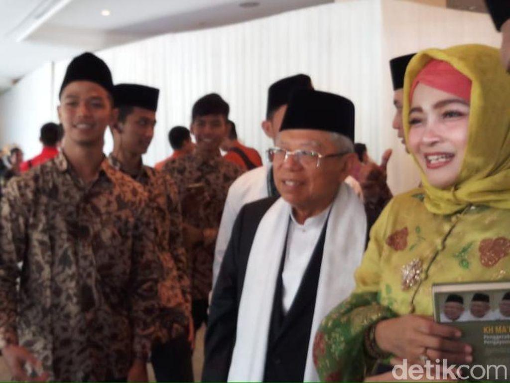 Maruf Amin Jadi Saksi Pernikahan Putra Said Aqil