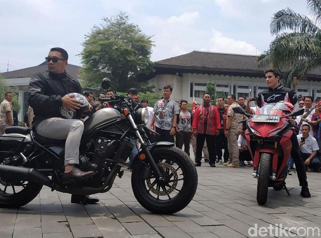 Kata Ridwan Kamil Soal Rencana Motor Masuk Jalan Tol di Bandung