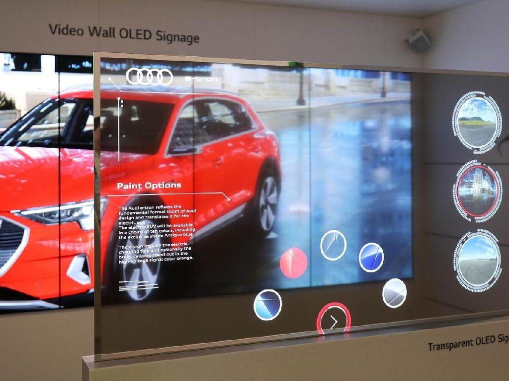 LG Pamer Layar OLED Transparan Bak di Film Hollywood