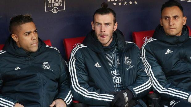 Gareth Bale berharap bisa tembus tim utama Zinedine Zidane.