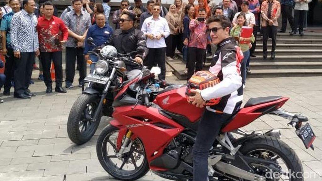Gaya Marquez dan Ridwan Kamil di Atas Motor Sport dan Moge