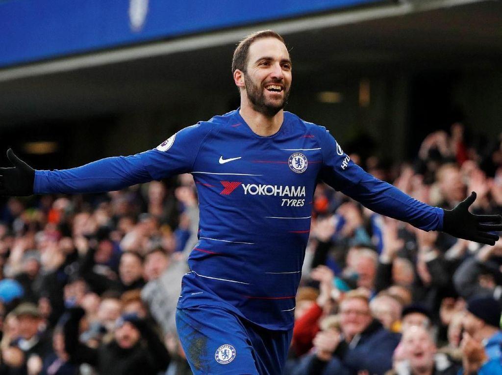 Higuain Ingin Tetap di Dekapan Chelsea